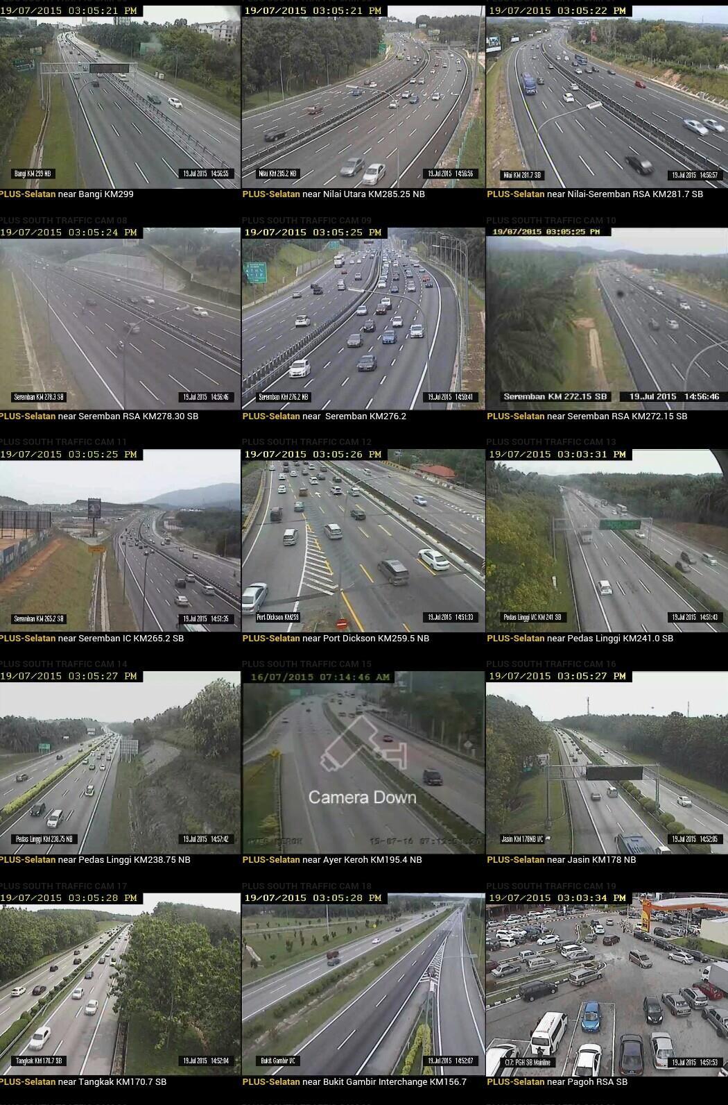 Jalanow com - LPT2 ECE2 Traffic CCTV (Lebuhraya Pantai Timur - Phase